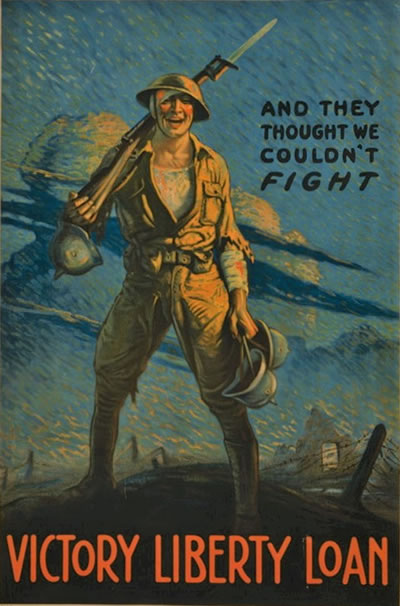 US Doughboy - Victory Liberty Loan poster